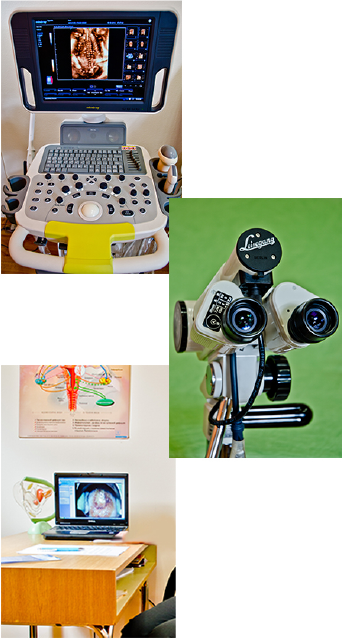 Диагностична и операционна гинекологична апаратура
